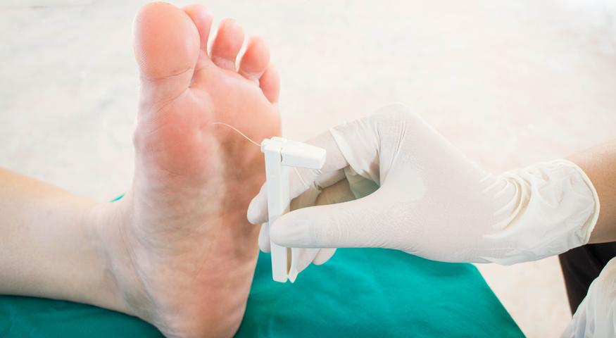 mršavljenje stopala veličina