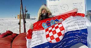 Veliki uspjeh: Hrvat dopješačio do Južnoga pola