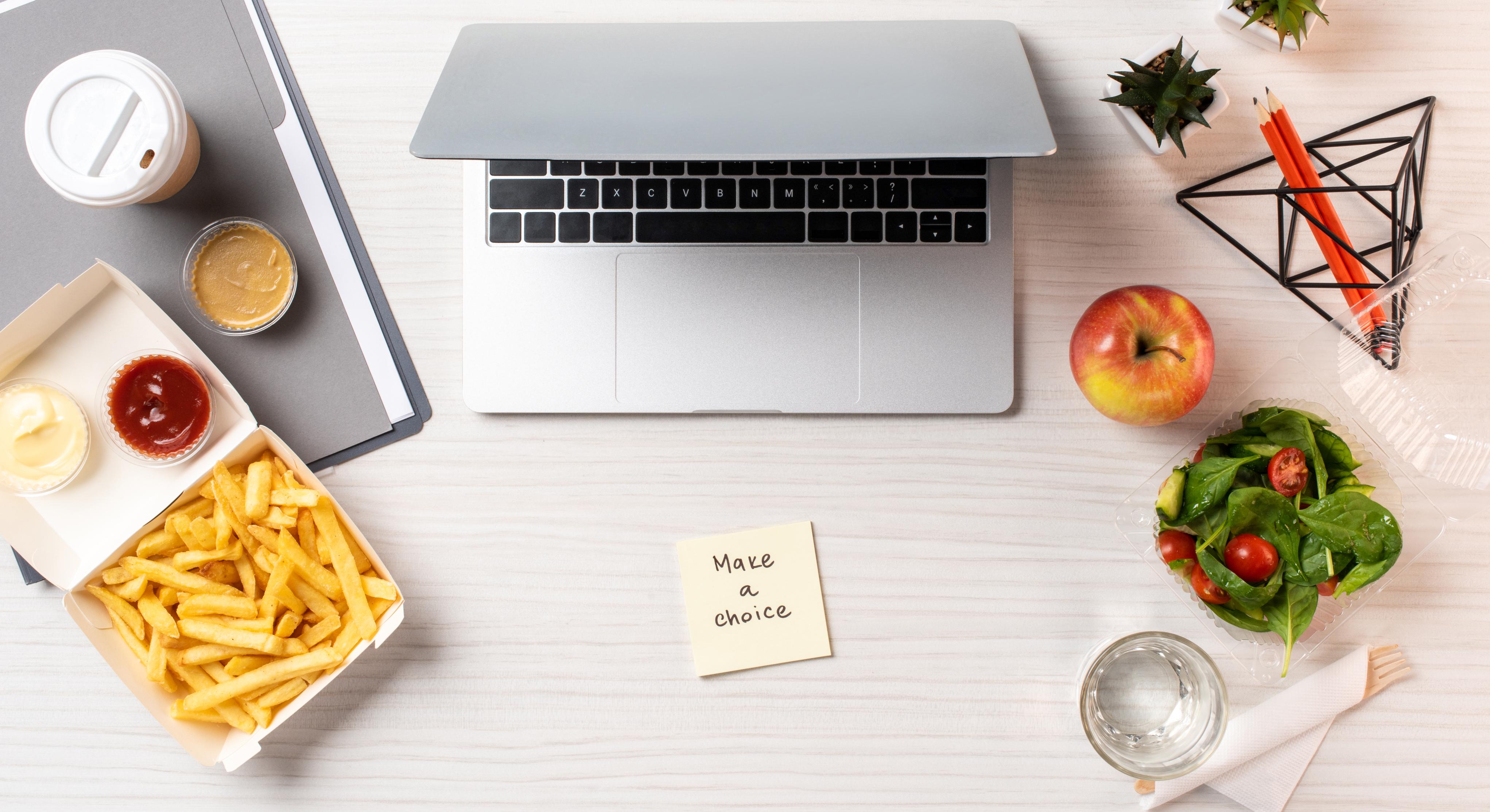 zdrava prehrana u uredu