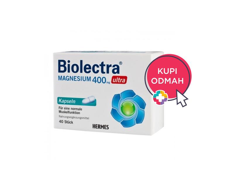 Biolectra® Magnezij 400 mg Ultra kapsule