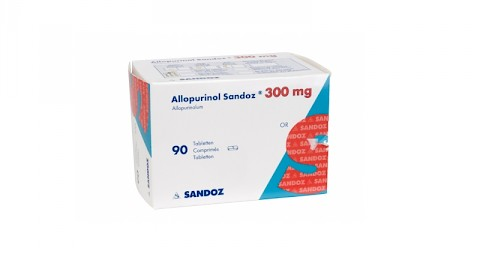 Alopurinol Sandoz 300 mg tablete