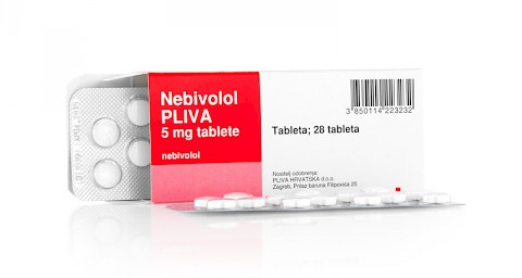 Nebivolol Pliva 5 mg tablete