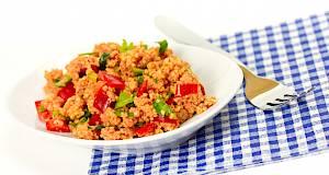Brz i jednostavan ručak: crvena kuskus salata