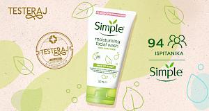 Evo kako su naše čitateljice ocijenile Simple Moisturising gel za čišćenje lica